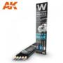 AK Weathering Pencils Set