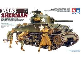 Tamiya M4A3 Sherman 75mm Gun 1:35