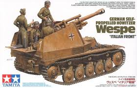 Tamiya German Self Propelled Howitzer Wespe 1:35