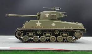 Easy Model  Sherman M4A3E8 Middle Tank   1:72
