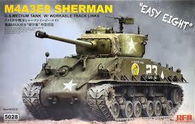 Rye Field Model  M4A3E8 Sherman 1:35