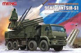 MENG Russian 96K6 Air Defense Weapon System  1:35