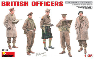 Miniart British Officers 1:35