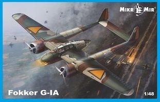 Mikro-Mir Fokker G-1  1:48