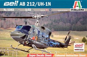 Italeri AB-212/UH-1N  1:72