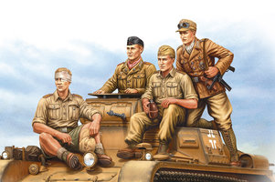 HobbyBoss German Tropical Panzer Crew 1:35