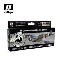 Air War RAF Colors Day Fighters 1941-1945 & P.R.U.