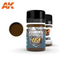 AK Pigment Burnt Umber