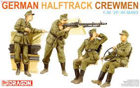Dragon German Halftrack Crewmen 1:35