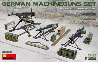 Miniart German Machineguns Set  1:35