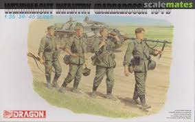 Dragon Wehrmacht infantry 1:35