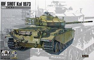 AFV IDF Shot Kal 1973  1:35