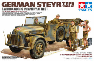 Tamiya German Steyr Type 1500 1:35