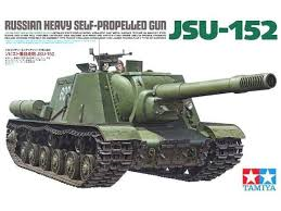 Tamiya Russian Heavy Self-Propelled Gun JSU-152 1:35
