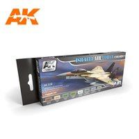 AK Aircraft Paint Set Israeli Airforce Colors