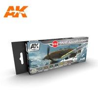 AK Aircraft Paint Set WW2 IJAAF Aircraft Colors