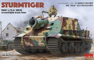 Rye Field Model  Sturmtiger RM61 L/5.4 38cm 1:35