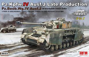 Rye Field Model Pz.Kpfw.IV Ausf.J  1:35