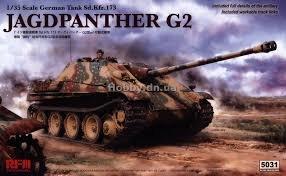 Rye Field Model  Jagdpanther G2 1:35