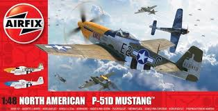 Airfix North American P-51D Mustang 1:48