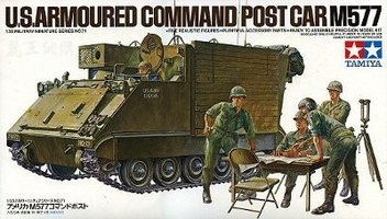 Tamiya U.S. Armoured Command Post Car M577 1:35