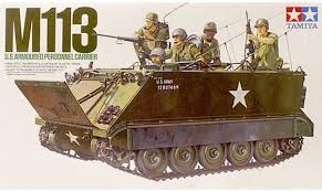Tamiya M113 U.S. Armoured Personnel Carrier 1:35