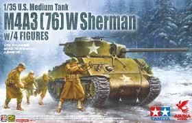 Asuka M4A3(76)W Sherman 1:35