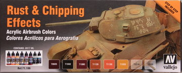 Vallejo Model Air Set Rust & Chipping Effects