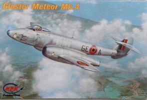 MPM Gloster Meteor Belgian AF  1:72