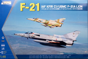 Kinetic IAF C1 Kfir/USMC F-21A Lion  1:48