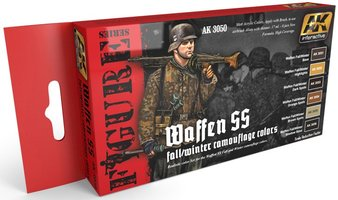 AK Waffen SS Fall/Winter Camouflage Uniform Colors