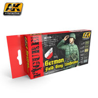 AK German Field Grey Uniform Colors