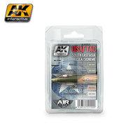 AK Aircraft USAF TAC South East Asia(SEA) Schema Set