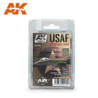 AK Aircraft Paint Set USAF European Camo