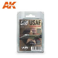 AK Aircraft Paint Set USAF European Camo