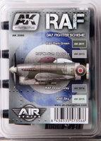 AK Aircraft Paint Set RAF Day Fighter Scheme
