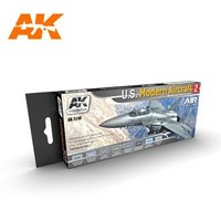 AK Aircraft Paint Set U.S. Modern Aircraft 2