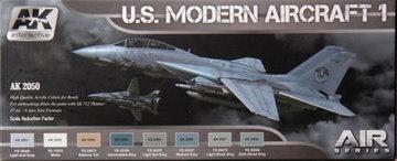 AK Aircraft Paint Set U.S. Modern Aircraft 1
