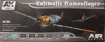 AK Aircraft Paint Set Luftwaffe Camouflage