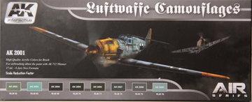 AK Aircraft Paint Set Luftwaffe Camouflage