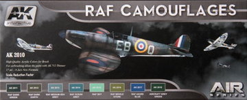 AK Aircraft Paint Set RAF Camouflages