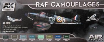 AK Aircraft Paint Set RAF Camouflages