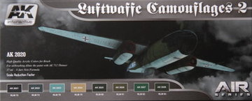 AK Aircraft Paint Set Luftwaffe Camouflage2