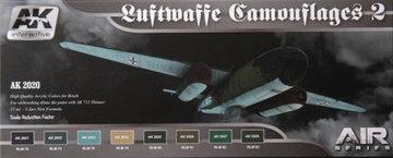 AK Aircraft Paint Set Luftwaffe Camouflage2
