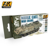 AK AFV Paint Set Middle East War Colors