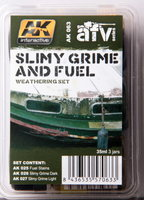 AK Slimy Grime and Fuel weathering set