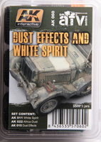 AK Dust Effects And White Spirit