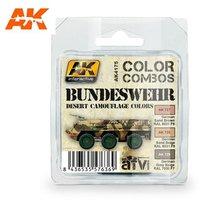 AK AFV Paint Set Bundeswehr desert camouflage colors