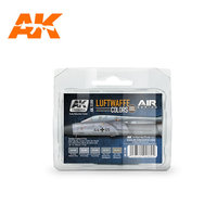 AK Aircraft Paint Set Luftwaffe Colors
