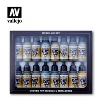 Vallejo Model Air RLM Colors set